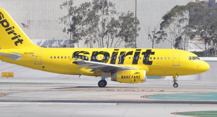 What Are Some of the Destinations Served by Spirit Airlines?