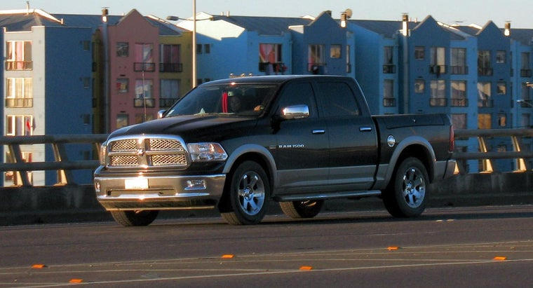 What Colors Are Available for the Dodge Ram 1500?