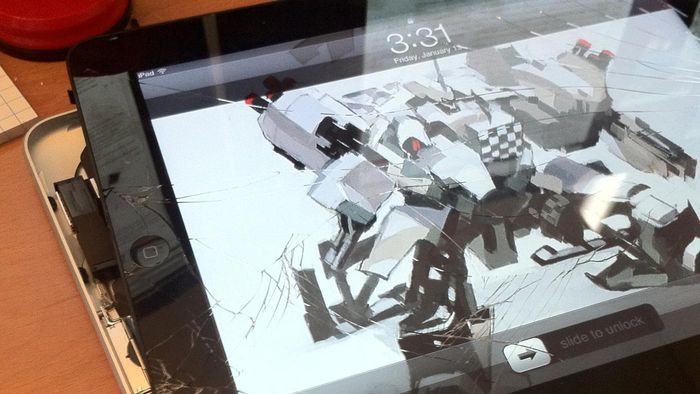 How Do You Fix a Cracked Tablet Screen?