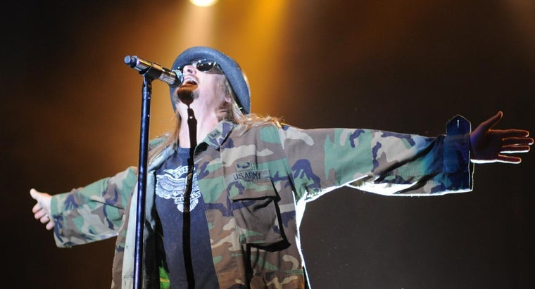 Where Can You Find Tour Dates for Kid Rock?