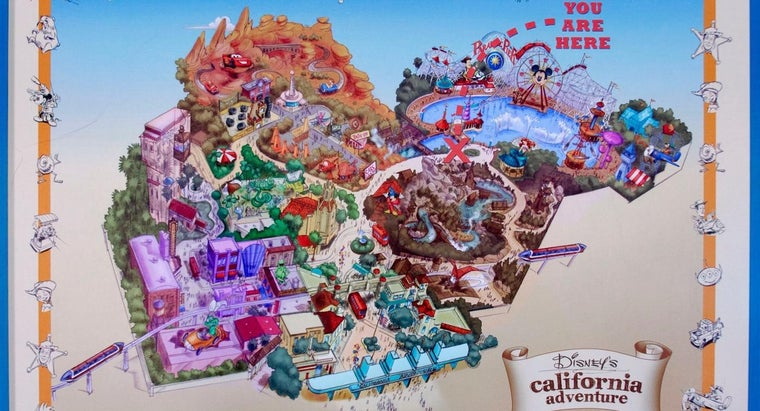 Are Disneyland Maps Available Online?