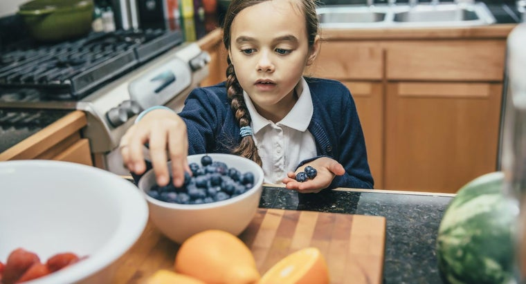 What Are Some Kid-Friendly Recipes That Use Frozen Blueberries?