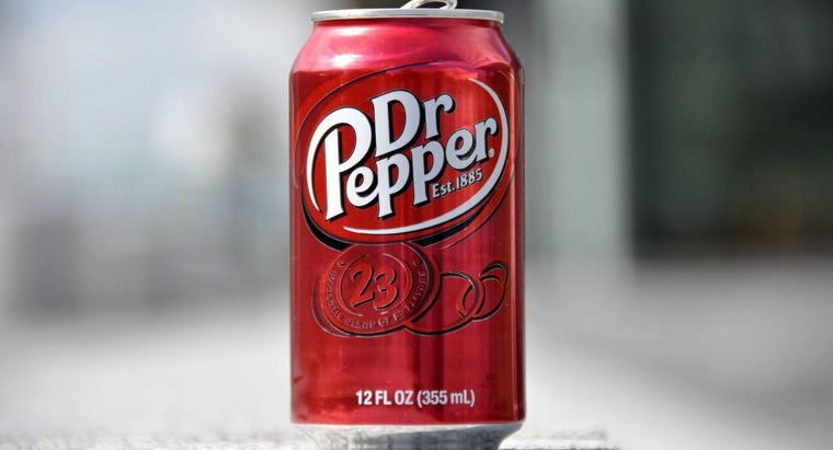 What Ingredients Are in Dr. Pepper?