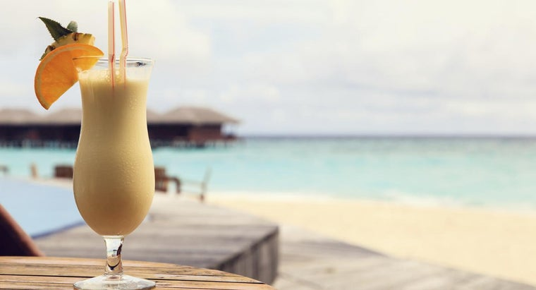 What Is a Simple Recipe for Piña Colada?