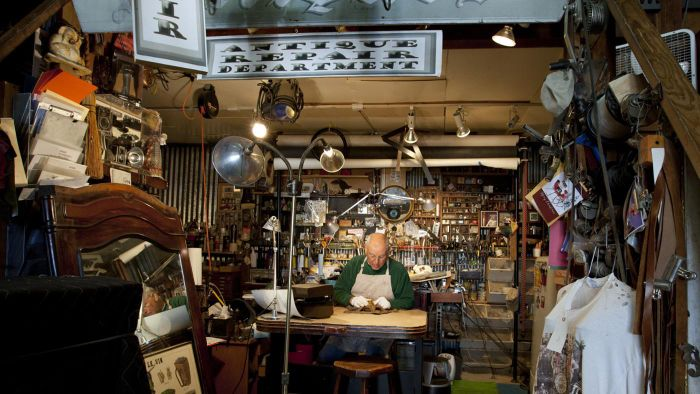 Where Can You Find an Antique Pawn Shop?