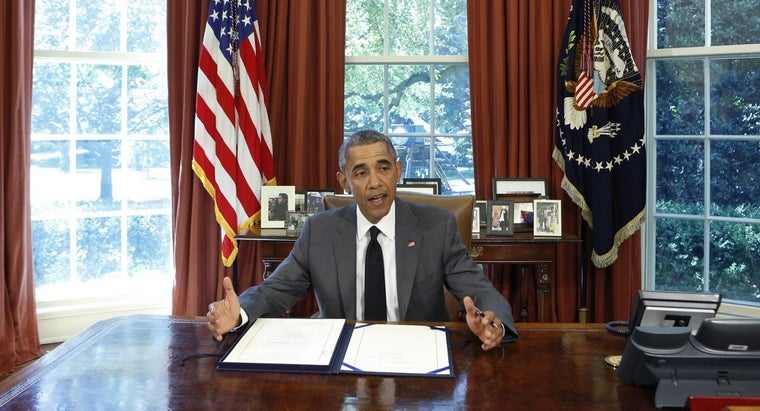 What Are Some Issues on President Obama's Official Web Page?