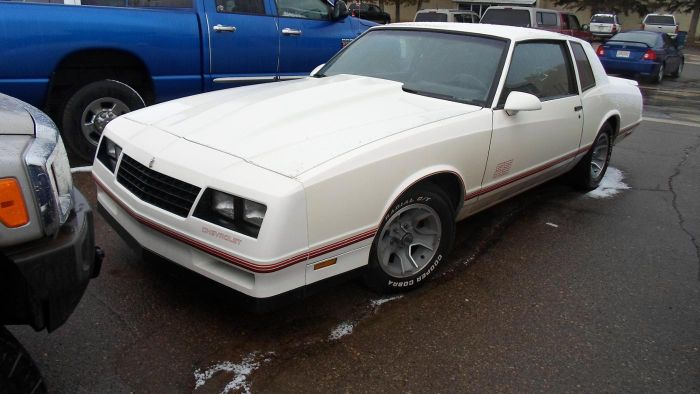 Is There a 1987 Monte Carlo SS Still on the Road?