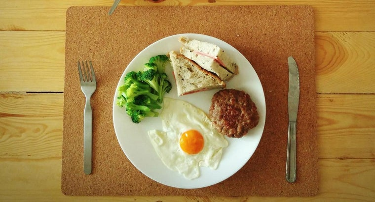 How Do You Use Your Plate to Help Control Food Portions?