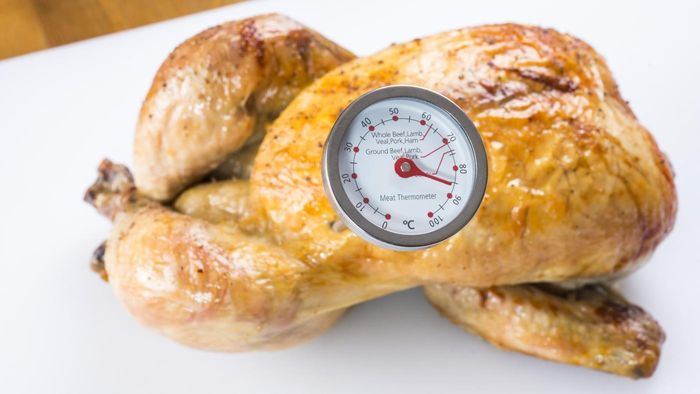 How Do You Check the Internal Temperature of a Cooked Chicken?