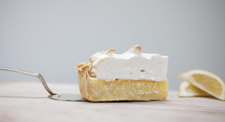What Is an Easy Low-Fat Lemon Pie Filling Recipe?