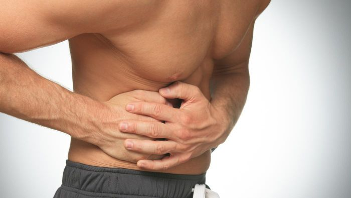 What are some treatment options for rib cage pain?