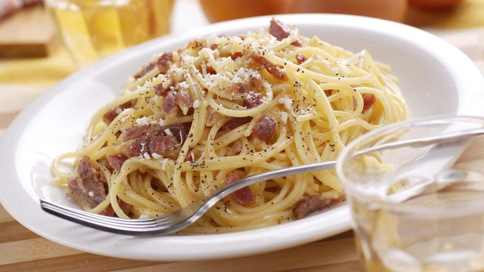 What Is a Recipe for Spaghetti Carbonara?