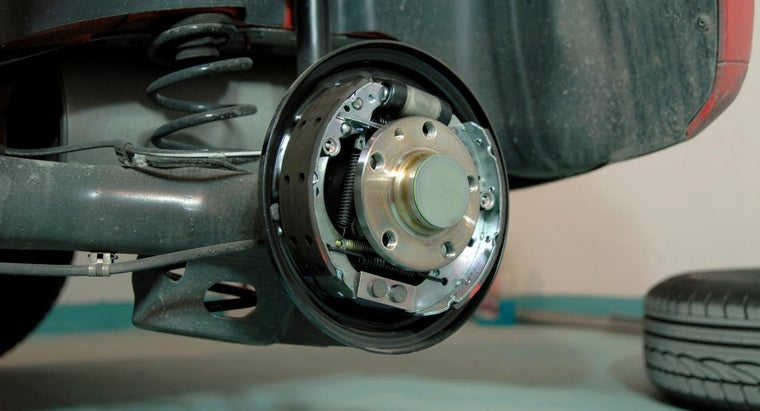 What Are the Rear Drum Brakes on a Car?