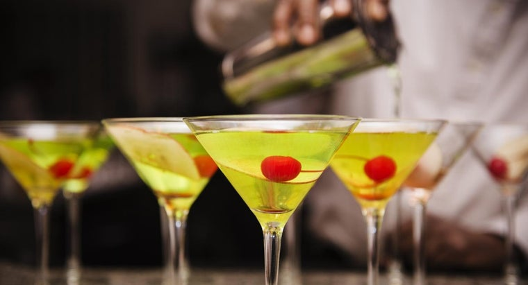 What Is an Appletini Recipe?