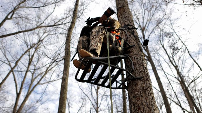 How Do You Build a Small Deer Stand?