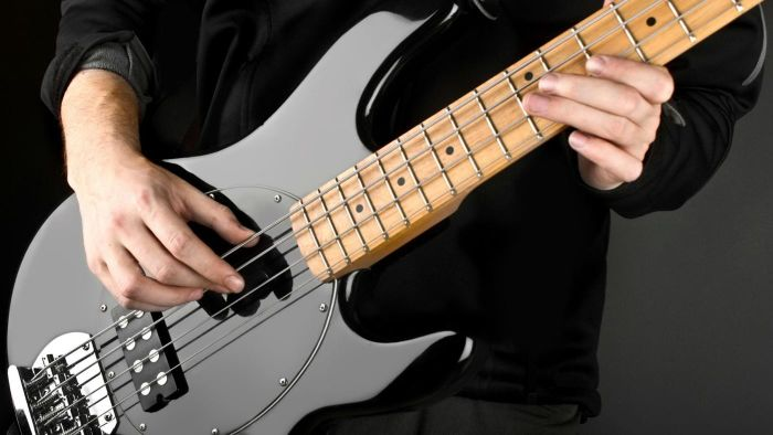 Are basic chords different for bass guitar?