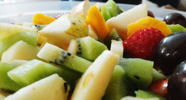What Are Some Good Five-Cup Fruit Salad Recipes?