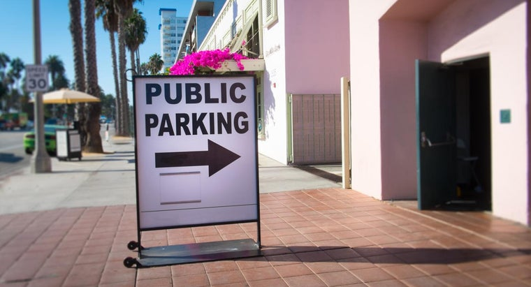 How Do You Obtain Parking Signs for a Business?