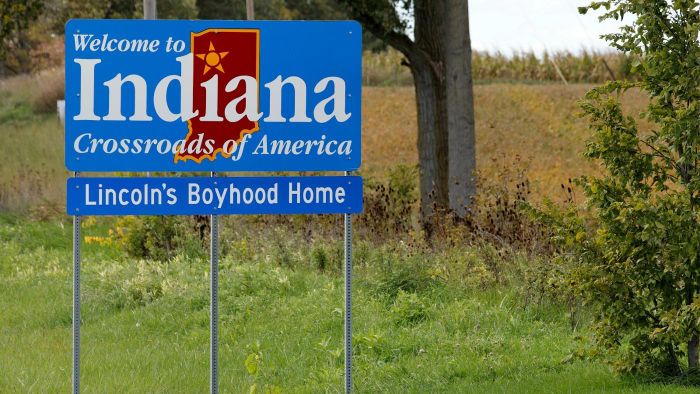 What Is the Sales Tax Rate in the State of Indiana?