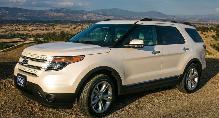 What Are Some of the Features of the 2015 Ford Explorer?