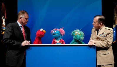 Which Sesame Street Character Testified in Front of Congress?