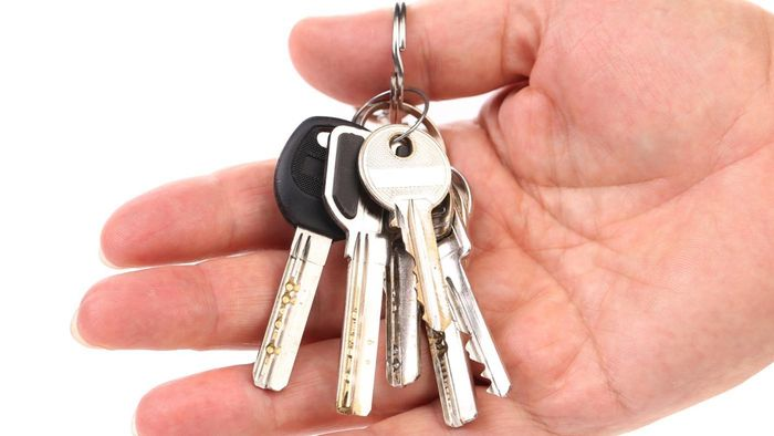 Where can you purchase a replacement key for a Sentry Safe?