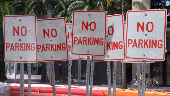 "Where Can You Buy ""No Parking"" Signs?"