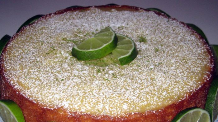 Does homemade key lime cake need to be refrigerated?