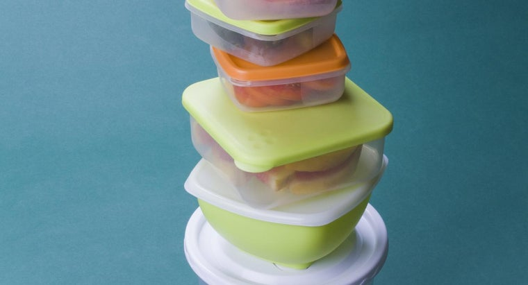 What Are Some Things You Can Do With Old Tupperware Products?