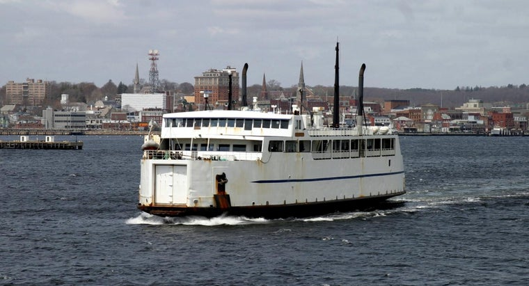 What Are Some Ferries From Bridgeport, Connecticut?