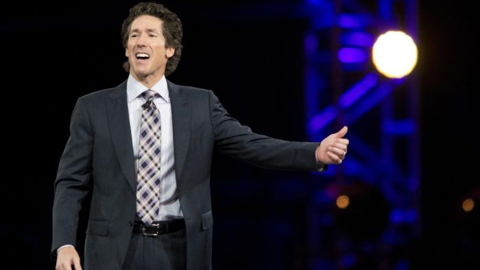 How do you access Joel Osteen's daily devotionals?