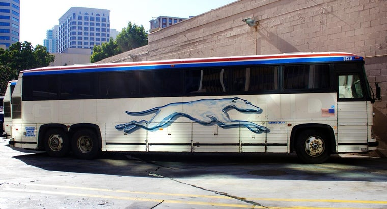 Where Are Greyhound Bus Arrival Schedules Found?