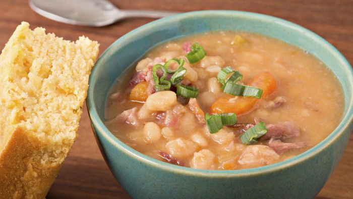 Where Can You Get a Good Recipe for Navy Bean Soup?