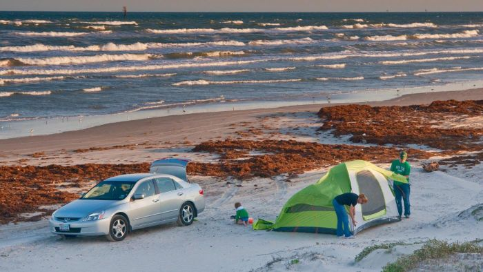 Which Texas State Parks Allow Camping?