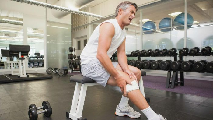 What is a torn ligament?