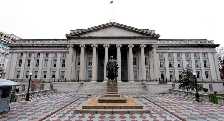 How Do You Contact the U.S. Department of the Treasury?