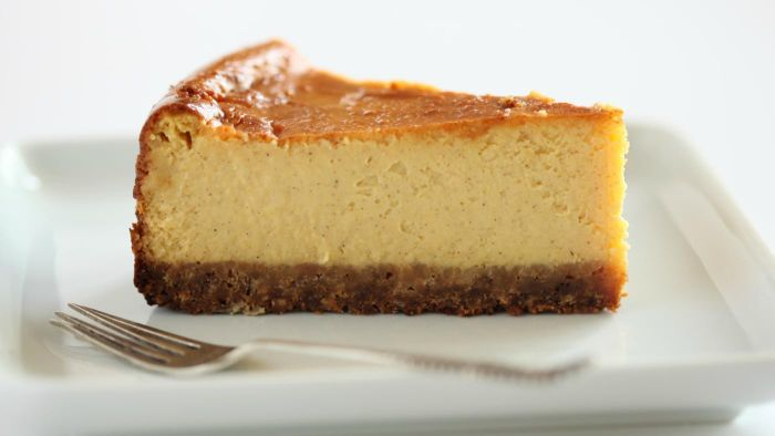 What is a good pumpkin cheesecake recipe?