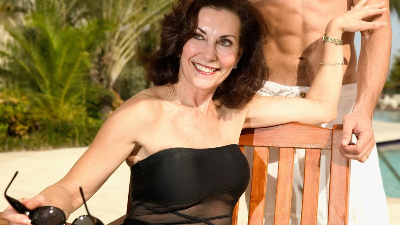 Tangowire senior women seeking real young men