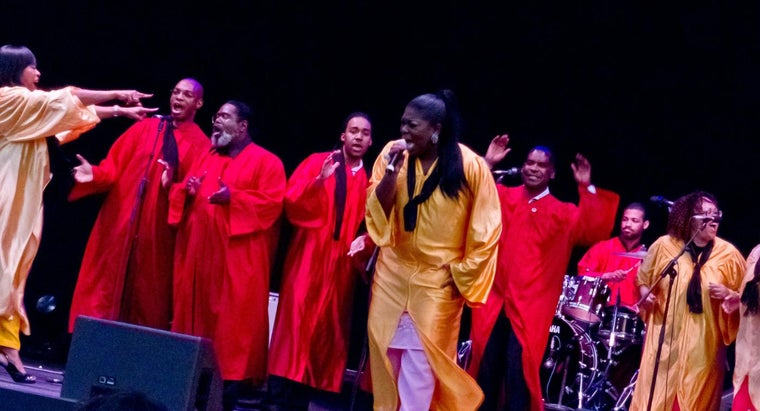 What Are Some Well-Known Gospel Singing Groups?