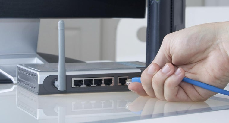How Do You Connect to a Home Router?