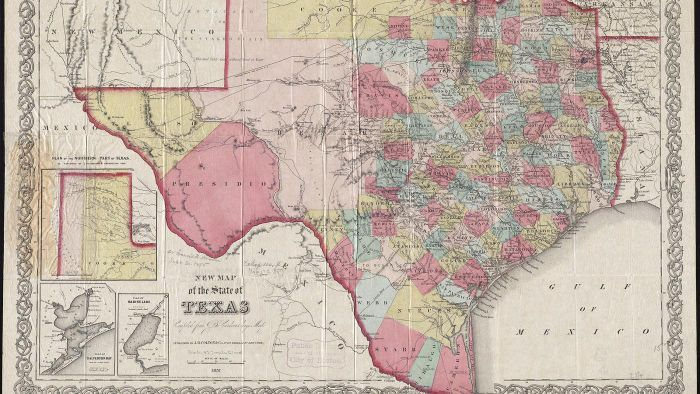 What Websites Have a Map of Texas With All of the Towns?