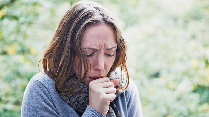 How do you stop coughing?