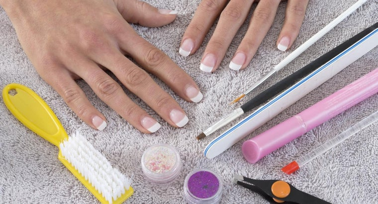 What Are Nail Supplies?