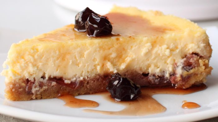 How do you make Philadelphia cheesecake?