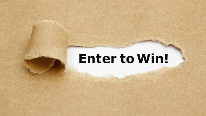 Which sweepstakes offer the winner $5,000 a week for life?