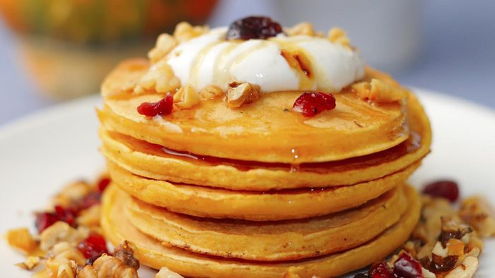 What Is an Easy Recipe for Pumpkin Pancakes?