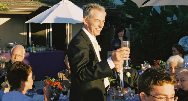 What Are Some Examples of Great Father of the Groom Toasts?