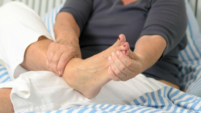 How do you get rid of a painful callus on the ball of your foot?