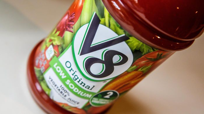 What Are Some Recipes That Use V8 Juice?