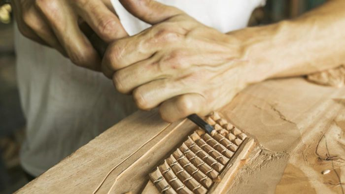 What are carving patterns?